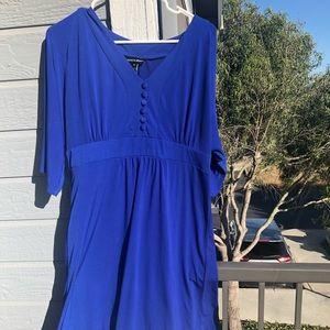 Beautiful blue dress XL